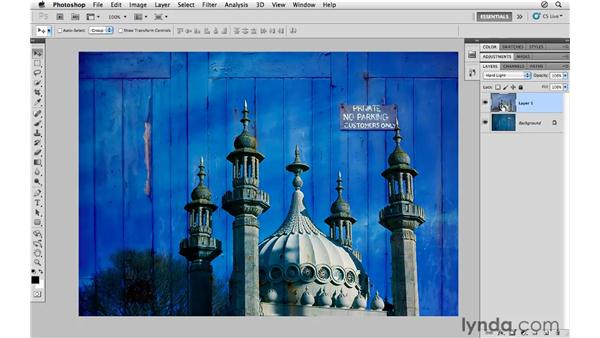 Blending multiple images together: Photoshop CS5 for Photographers