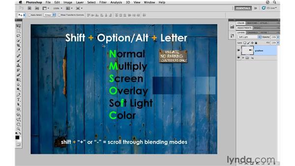 Blending shortcuts: Photoshop CS5 for Photographers