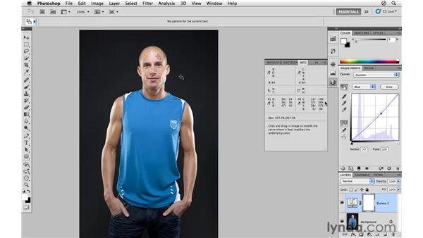 Color-correcting skin by the numbers: Photoshop CS5 for Photographers
