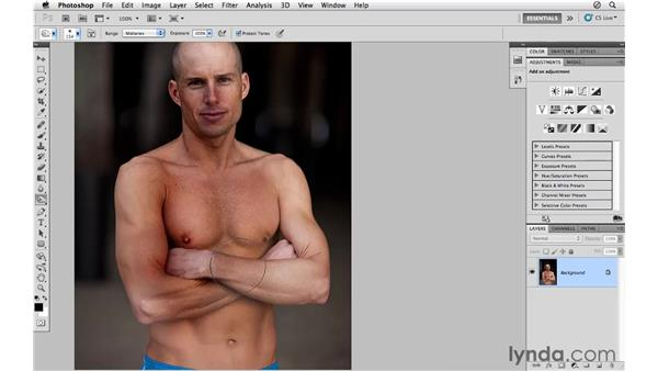 Introducing the Burn and Dodge tools: Photoshop CS5 for Photographers