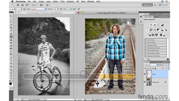 Darkening with the Soft Light blending mode: Photoshop CS5 for Photographers