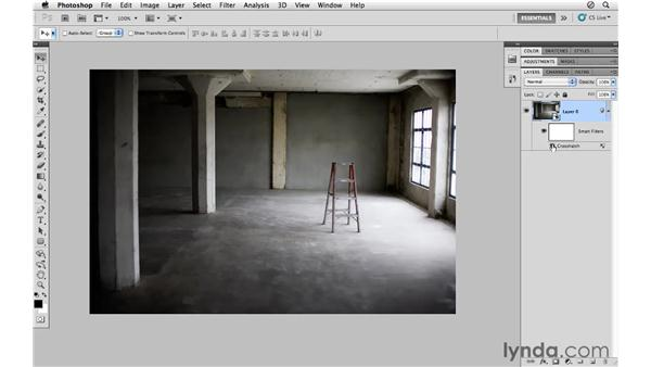 Applying Smart Filters: Photoshop CS5 for Photographers