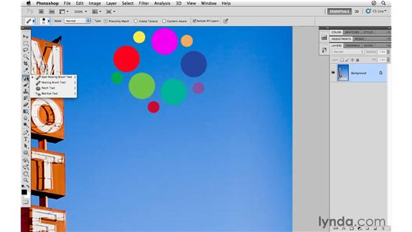 Introducing the trio of healing tools: Photoshop CS5 for Photographers