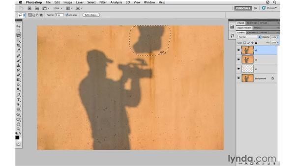 Using Content-Aware Fill: Photoshop CS5 for Photographers