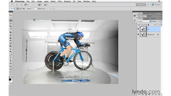 Using multiple content-aware tools for the best results: Photoshop CS5 for Photographers
