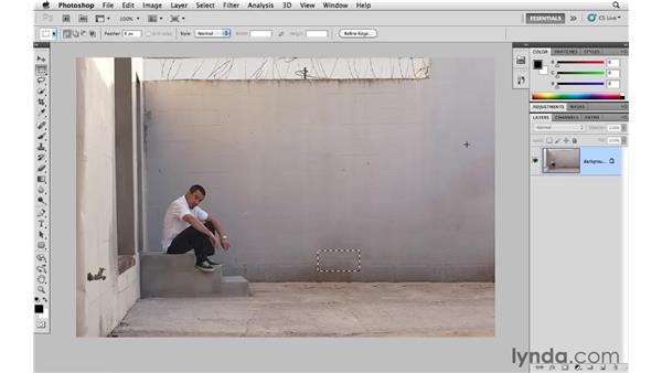 Deleting unwanted elements: Photoshop CS5 for Photographers