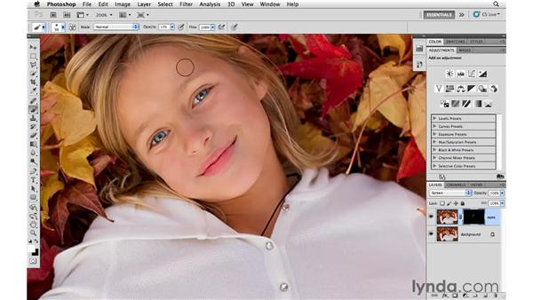 Improving eyes: Photoshop CS5 for Photographers