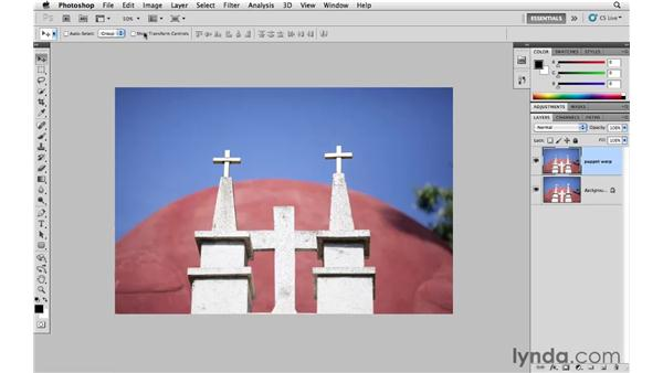 Using Puppet Warp to correct perspective: Photoshop CS5 for Photographers
