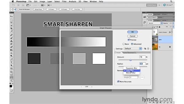 Introducing Smart Sharpen: Photoshop CS5 for Photographers