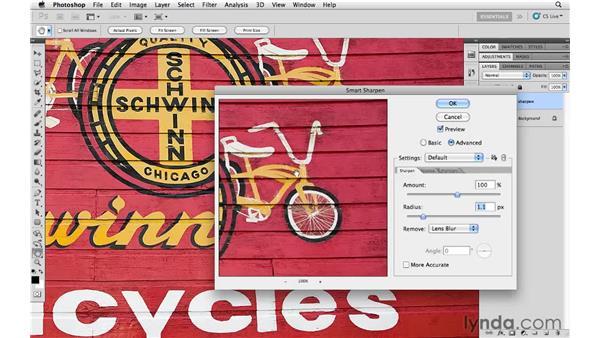 Smart Sharpen demystified: Photoshop CS5 for Photographers