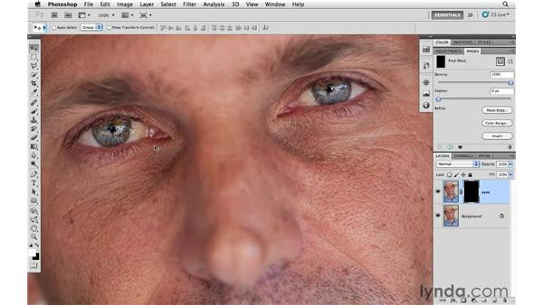 Using Smart Sharpen on small details: Photoshop CS5 for Photographers