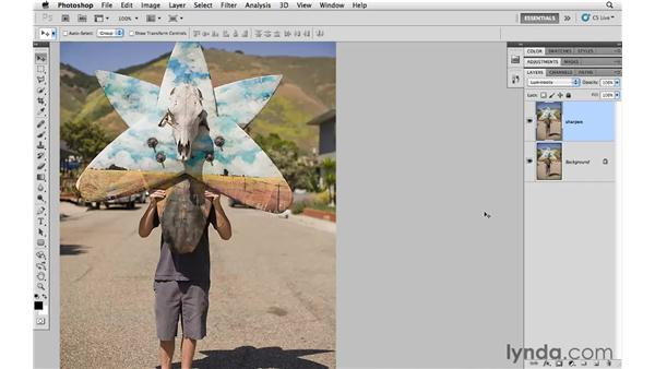 Using the Unsharp Mask filter: Photoshop CS5 for Photographers