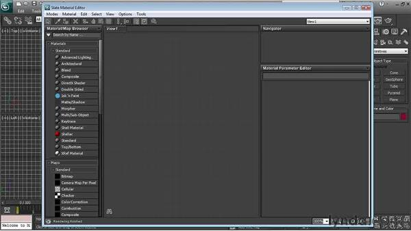 Using the Slate material editor : 3ds Max 2011 New Features