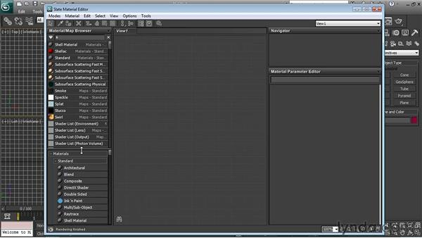 Using the Material/Map browser: 3ds Max 2011 New Features