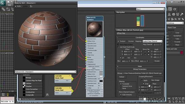 Editing parameters: 3ds Max 2011 New Features