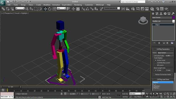 Using CAT preset rigs: 3ds Max 2011 New Features