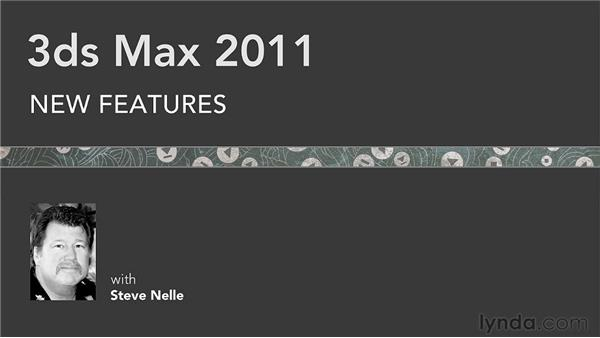 Goodbye: 3ds Max 2011 New Features