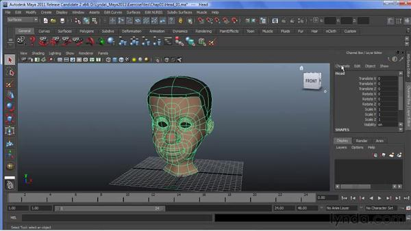 Working with tabbed windows in Maya: Maya 2011 New Features