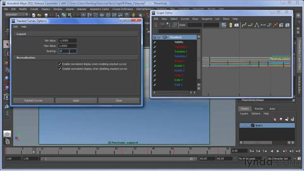 Additions to the Curve Editor: Maya 2011 New Features