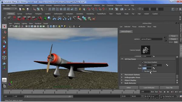 Panning and zooming in 2D: Maya 2011 New Features