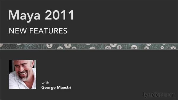 Goodbye: Maya 2011 New Features