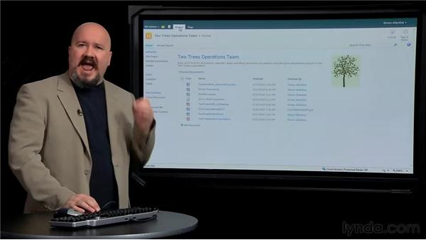 Exploring the interface: SharePoint 2010 New Features