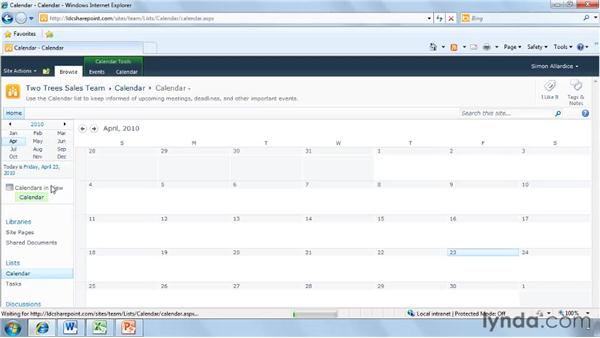 Using the Ribbon in SharePoint 2010: SharePoint 2010 New Features