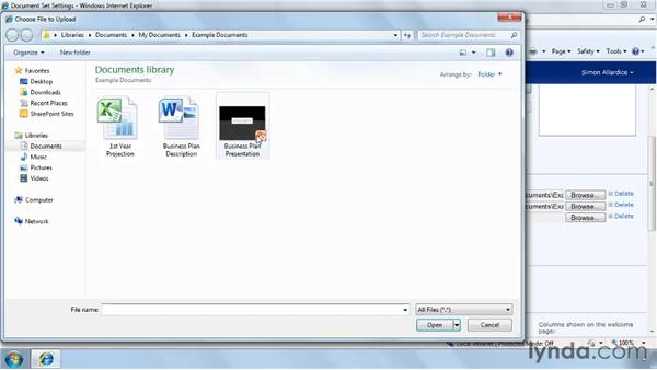 Creating a new Document Set: SharePoint 2010 New Features