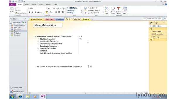 Knowing who wrote what with author indicators: OneNote 2010 New Features