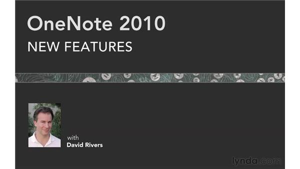 Goodbye: OneNote 2010 New Features