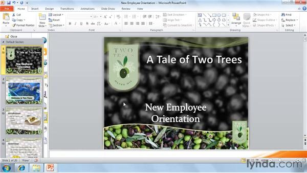 Saving as a video: PowerPoint 2010 New Features