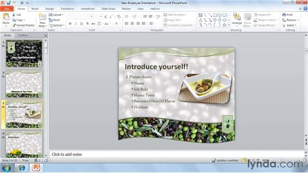 Collaborating simultaneously with others: PowerPoint 2010 New Features
