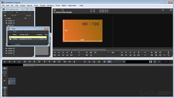 Linking to media using AMA: Avid Media Composer 5 Getting Started