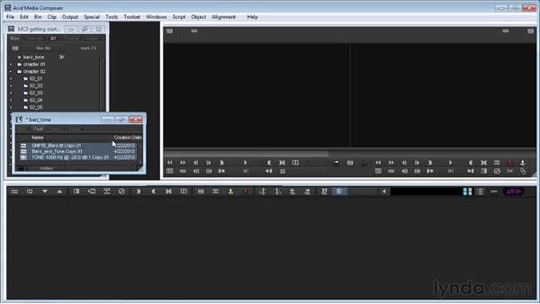 Accessing media from other projects: Avid Media Composer 5 Getting Started