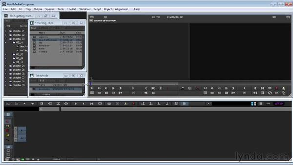Getting started with editing: Avid Media Composer 5 Getting Started