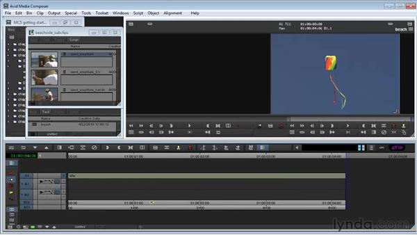 Creating a new sequence: Avid Media Composer 5 Getting Started