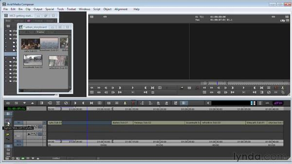 Removing material from your sequence: Avid Media Composer 5 Getting Started