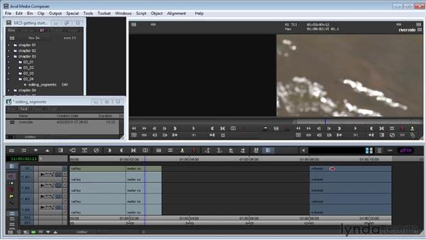 Editing segments in the Timeline: Avid Media Composer 5 Getting Started
