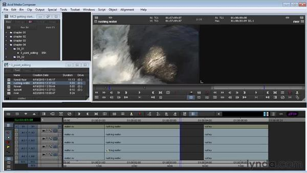 Using Splice, Overwrite, and three-point editing: Avid Media Composer 5 Getting Started
