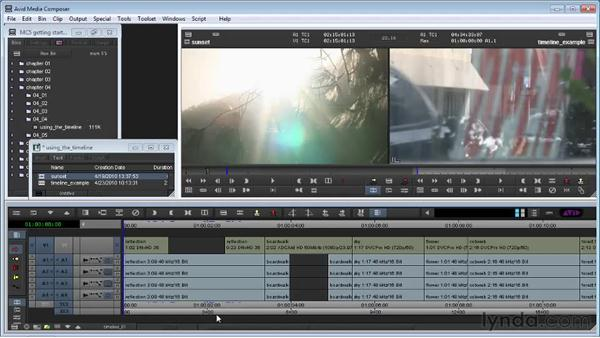Using the Timeline: Avid Media Composer 5 Getting Started