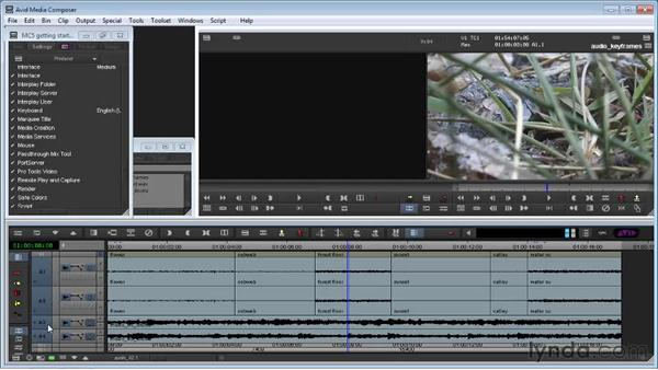 Adjusting audio levels and pan: Avid Media Composer 5 Getting Started