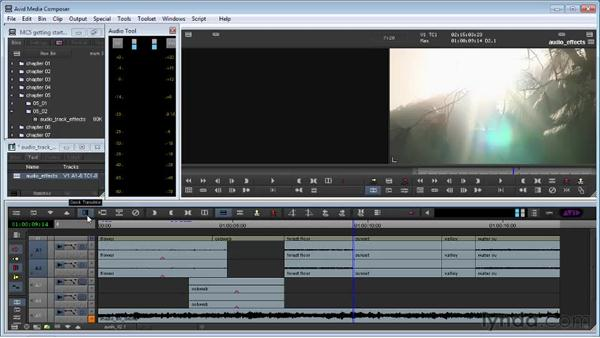 Diving deeper into audio: Avid Media Composer 5 Getting Started