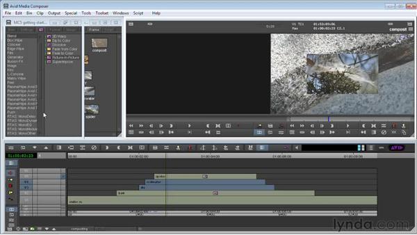 Understanding Timeline compositing : Avid Media Composer 5 Getting Started