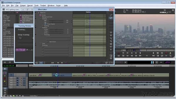 Stabilizing shaky footage: Avid Media Composer 5 Getting Started
