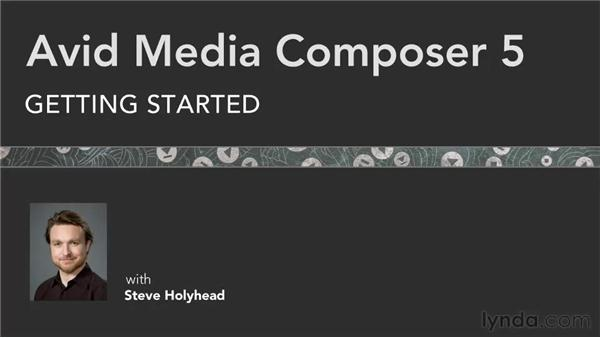 Goodbye: Avid Media Composer 5 Getting Started