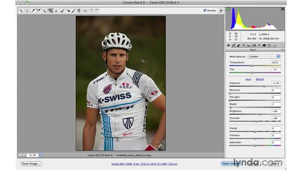 Cropping and composing: Photoshop CS5 for Photographers: Camera Raw 6
