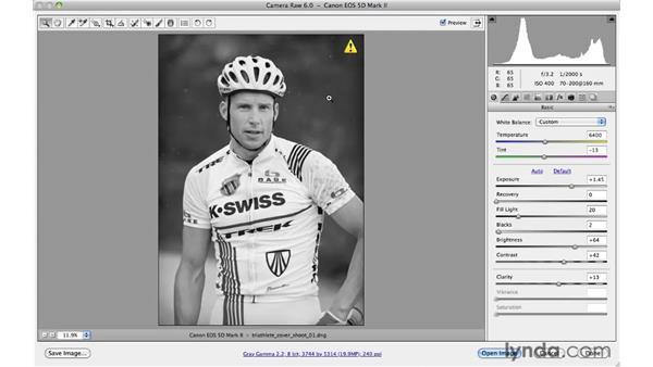 Re-editing Camera Raw settings: Photoshop CS5 for Photographers: Camera Raw 6