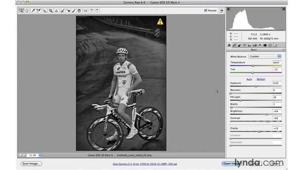 Working with multiple adjustments: Photoshop CS5 for Photographers: Camera Raw 6