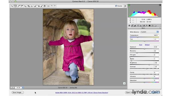 Saving from Camera Raw: Photoshop CS5 for Photographers: Camera Raw 6