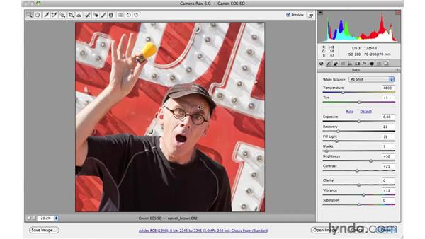 Creative cropping: Photoshop CS5 for Photographers: Camera Raw 6
